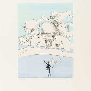 Salvador Dali (1904-1989) After 50 years of Surrealism (Field 74-8A-L;