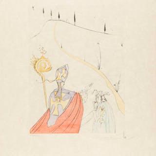 Salvador Dali (1904-1989) The Divine Love of Gala (Field 74-8J; M&L