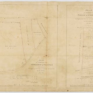 York.- Clifton.- Holliday (Thomas) Plan of Property in the Township
