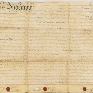 Hampshire.- Selborne & Oakhanger.- 4 deeds relating to the sale of