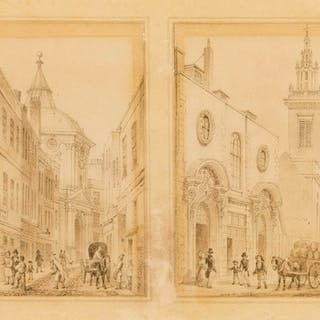 London.- Shepherd (Thomas Hosmer, 1793-1864) Physician's College
