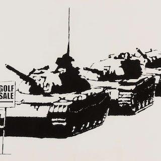 Banksy (b.1974) Golf Sale