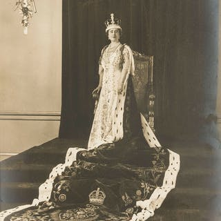 George VI & Queen Elizabeth. 2 Coronation photographs, 1937; and 2