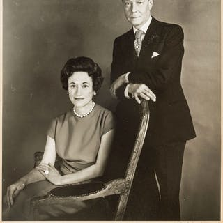 Edward VIII. Photograph by Cecil Beaton of Edward VIII as Duke of