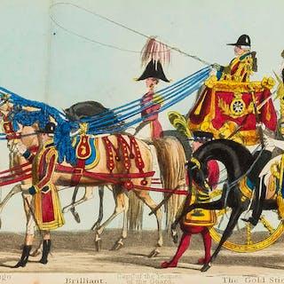Coronation of Queen Victoria.- Fores' Correct Representation of The