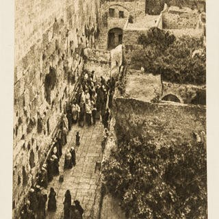Judaica.- Benor-Kalter (J.) Jerusalem Photo-Etchings, one of 100 de