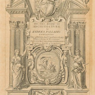 Palladio (Andrea) The Four Books of Architecture, translated by Isaac