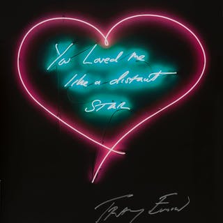 Tracey Emin (b.1963) You loved me like a distant Star, Tracey Emin