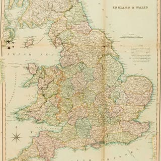 British Isles.- Teesdale (Henry) [New British Atlas, Containing a