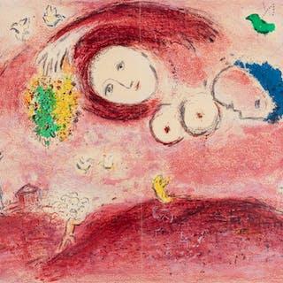 Marc Chagall (1887-1985) Printemps au Pré (Mourlot 314; see Cramer