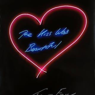 Tracey Emin (b.1963) The Kiss Was Beautiful, Tracey Emin (b.1963)
