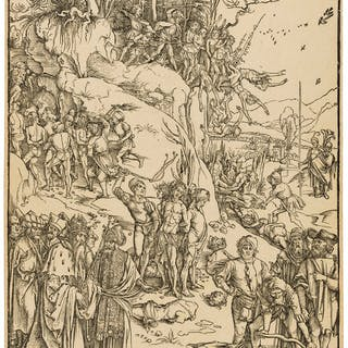 Albrecht Dürer (1471-1528) The Martyrdom of the Ten Thousand, Albrecht