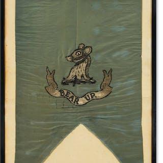 Arctic Sledge Flag.- Fulford (Reginald Baldwin) Sledge flag... HMS