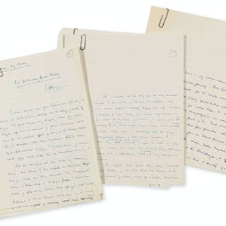 Bates (H.E.) Collection of 11 manuscript magazine and newspaper articles