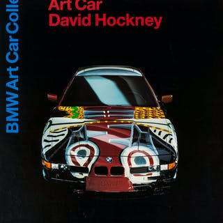 David Hockney (b.1937) (after) A poster for David Hockney: BMW Art