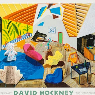 David Hockney (b.1937) (after) A poster for The Modern Art Department: