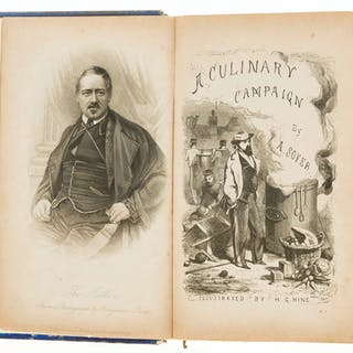 Cookery.- Soyer (Alexis) Soyer's Culinary Campaign, first edition
