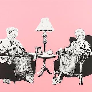 Banksy (b.1974) Grannies, Banksy (b.1974), Grannies