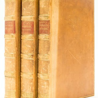 Greece.- Leake (William Martin) Travels in the Morea, 3 vol., first