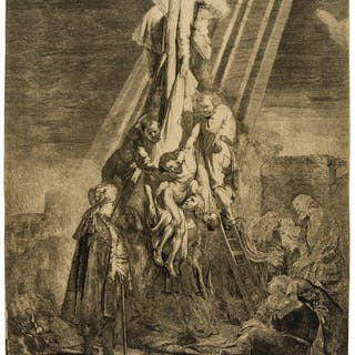 Rembrandt van Rijn (1606-1669) The Descent from the Cross: Second
