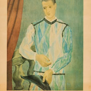 Pablo Picasso (1881-1973) (after) Harlequin (CZW 230), Pablo Picasso