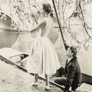 Norman Parkinson (1913-1990) Couple in Punt; Three Couples Ballroom