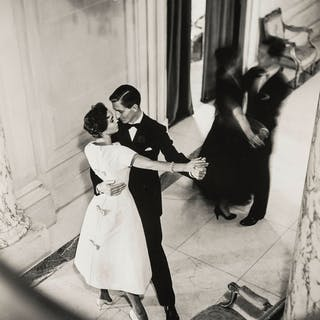 Norman Parkinson (1913-1990) Couple Dancing; Girl Seated at Man's