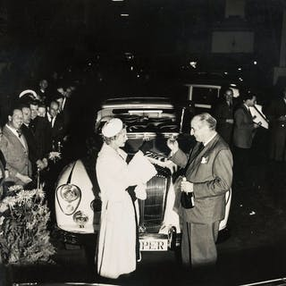 Norman Parkinson (1913-1990) A Night Out: The Dockers and their Daimler;