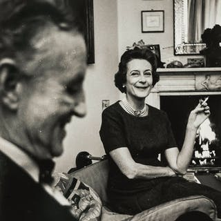 Norman Parkinson (1913-1990) Ian Fleming and Lady Anne Rothermere;