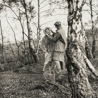 Norman Parkinson (1913-1990) Couples in the Woods: Three Advertising