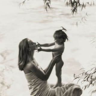 Norman Parkinson (1913-1990) Mother and Child: Four Advertising Portraits
