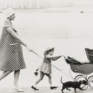 Norman Parkinson (1913-1990) Going For a Stroll, A Collection of Five