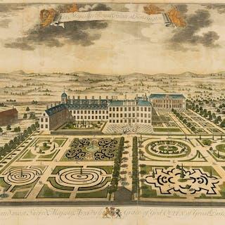 London.- Queen Anne.- [Kip (Johannes)] Her Majesties Royal Palace