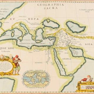 Holy Land.- Middle East.- Ortelius (Abraham) Geographia Sacra, [c.