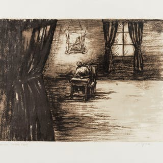 Henry Moore (1898-1986) Figure in a Room (Cramer 451), Henry Moore
