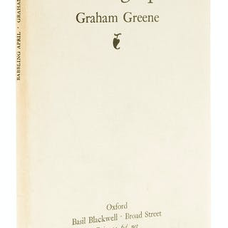 Greene (Graham) Babbling April, first edition, 1925. Greene (Graham)