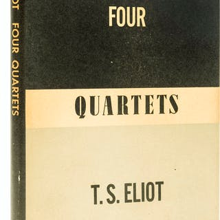 Eliot (T.S.) Four Quartets, first collected edition, first printing