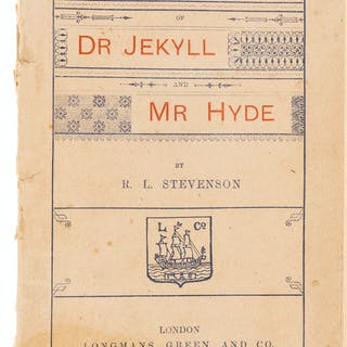 Stevenson (Robert Louis) Stange Case of Dr Jekyll and Mr Hyde, first