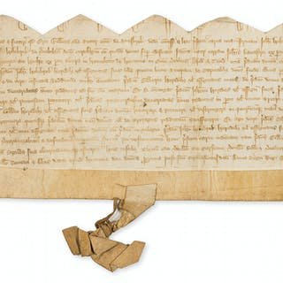 Wiltshire, ?Hindon.- Charter, grant by Gilbert Ode, rector of 'Sotesbrok