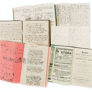 Victorian travel journals & diaries.- Bell family (of Ford House