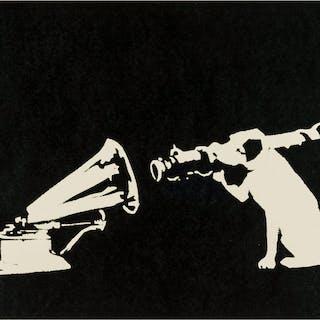 Banksy (b.1974) HMV, Banksy (b.1974), HMV
