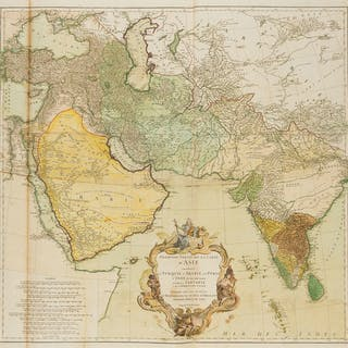 Middle East and Asia .- d'Anville (Jean Baptiste Bourguignon) Premiere