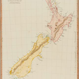 New Zealand.- SDUK (Society for the Diffusion of Useful Knowledge)