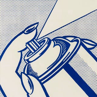 Roy Lichtenstein (1923-1997) Spray Can (Corlett 34), Roy Lichtenstein