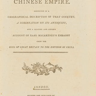 China.- Complete View of the Chinese Empire (A), first edition, G.