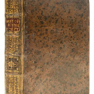 Sprat (Thomas) The History of the Royal-Society of London, first edition