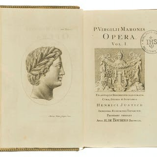 Vergilius Maro (Publius) Opera, 5 vol., engraved throughout, Brussels