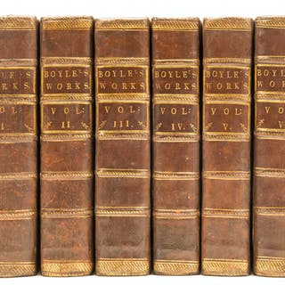 Boyle (Robert) The Works, 6 vol, 1772. Boyle (Robert), The Works, 6 vol, 1772