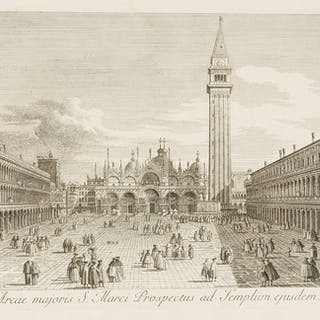 Canaletto (Giovanni Antonio Canal, called) Urbis Venetiarum Prospectus