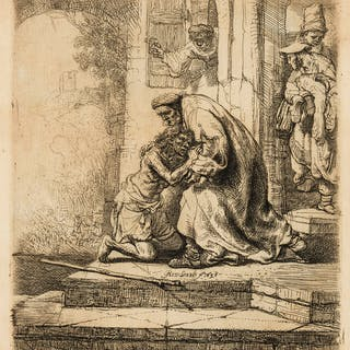 Rembrandt van Rijn (1606-1669)  The Return of the Prodigal Son, Rembrandt